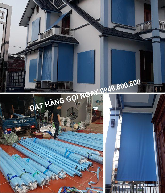 bạt cuốn ban công cửa sổ che nắng mưa tại Biên Hòa-Đồng Nai