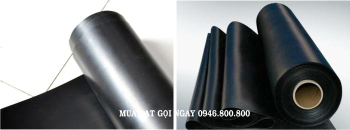 MẪU bạt lót hồ tôm (ao tôm), tấm bạc nhựa đen