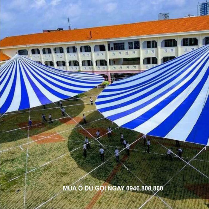 đơn vị cung cấp ô dù bạt sân trường học che nắng mưa ngoài trời cho rất nhiều trường học tại Nam Định, Thái Bình, Ninh Bình, Hà Nam