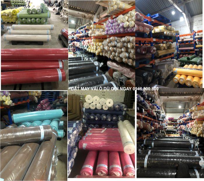 Tổng kho vải ô Dù cung cấp tại Nam Định, Thái Bình, Ninh Bình, Hà Nam