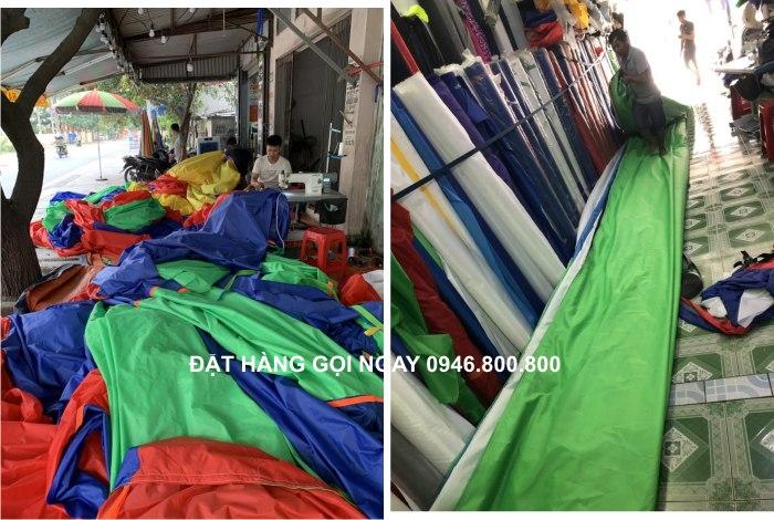 Hệ thống máy may bạt công nghiệp công suất 600 áo dù mỗi ngày sẵn sàng phục vụ mọi đơn hàng trên cả nước