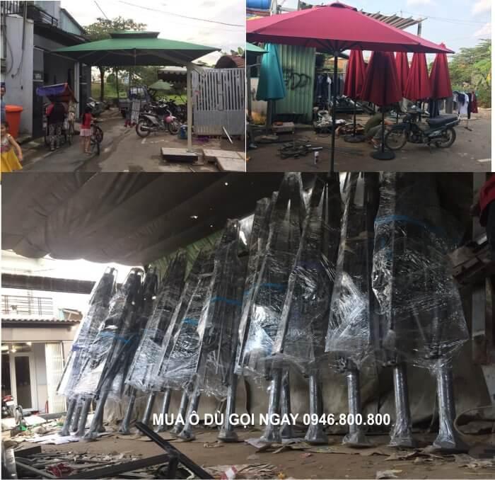 Xưởng ô Dù lệch tâm-đứng tâm tại Nam Định, Thái Bình, Ninh Bình, Hà Nam
