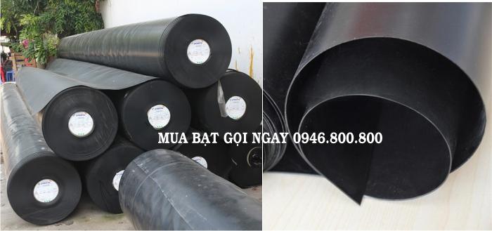 Bảng giá thi công tấm bạt (bạc) phủ nhựa đen HDPE chống thấm lót đáy ao hồ chứa nước-nuôi thủy sản tôm cá giá rẻ